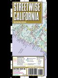 Streetwise California Map - Laminated State Road Map of California