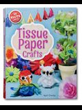 Tissue Paper Crafts [With String, Wire, Bead Eyes, Punch-Out Birdcage and Stencils and Glue and Paper]