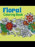 Floral Coloring Book