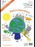 Music's Everywhere: Music Appreciation Through Songs and Movement, DVD & CD [With DVD]