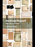 Portraits from Memory: And Other Essays