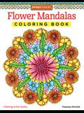 Flower Mandalas Coloring Book