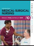 Timby, Introductory Medical-Surgical Nursing 10e and Workbookpackage