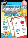Comprehensive Curriculum of Basic Skills Learning Cards , Grade PK