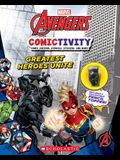 Greatest Heroes Unite (Marvel: Comictivity with Pencil Topper): Marvel Avengers Comictivity #1