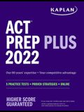 ACT Prep Plus 2022: 5 Practice Tests + Proven Strategies + Online