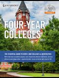Peterson's Four-Year Colleges 2017