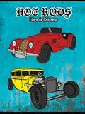 Hot Rods Libro de Colorear: Volumen 2