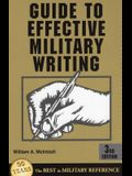 Guide to Effective Military Writing: 3rd Edition