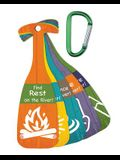 Vacation Bible School (Vbs) 2018 Rolling River Rampage Scripture Treasure Tag Set W/Carabiners (Pkg of 12): Experience the Ride of a Lifetime with God