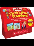 First Little Readers: More Guided Reading Level a Books (Classroom Set): A Big Collection of Just-Right Leveled Books for Beginning Readers
