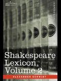 Shakespeare Lexicon, Vol. 2