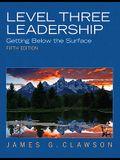 Clawson: Level Three Leadership _p5