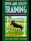 Open and Utility Training: The Motivational Method