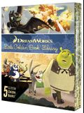 DreamWorks Little Golden Book Library 5-Book Boxed Set: How to Train Your Dragon; Kung Fu Panda; Madagascar; Puss in Boots; Shrek