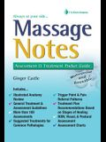 Massage Notes: A Pocket Guide to Assessment & Treatment