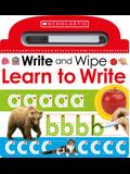 Learn to Write (Scholastic Early Learners: Write and Wipe)