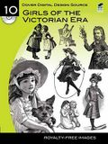 Dover Digital Design Source #10: Girls of the Victorian Era