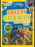 Creepy Crawly Sticker Activity Book: Over 1,000 Stickers!