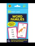 Word Families Flash Cards: 54 Flash Cards