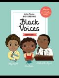 Little People, Big Dreams: Black Voices: 3 Books from the Best-Selling Series! Maya Angelou - Rosa Parks - Martin Luther King Jr.