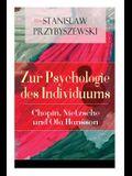 Zur Psychologie des Individuums: Chopin, Nietzsche und Ola Hansson