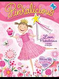 Pinkalicious: Love, Pinkalicious Reusable Sticker Book [With Reusable Stickers]