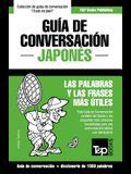 Guía de Conversación Español-Japonés y diccionario conciso de 1500 palabras