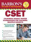 Cset: California Subject Matter Exams for Teachers: Multiple Subjects