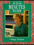 Ten-Twenty-Thirty Minutes to Sew