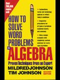 How to Solve Word Problems in Algebra, 2nd Edition