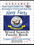 Circle It, United States Navy Facts, Word Search, Puzzle Book