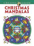 Creative Haven Christmas Mandalas Coloring Book