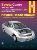 Toyota Camry: 2002 Thru 2006 - Avalon & Lexus Es 300/330 (2002 Thru 2006) - Solara (2002 Thru 2008)