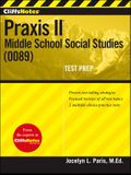Cliffsnotes Praxis II: Middle School Social Studies (0089)