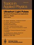 Ultrashort Light Pulses: Picosecond Techniques and Applications