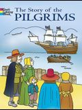 The Story of the Pilgrims Coloring Book