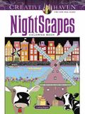 Creative Haven Nightscapes Coloring Book
