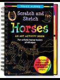Scratch & Sketch Horses