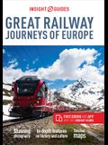 Insight Guides Great Railway Journeys of Europe (Travel Guide with Free Ebook)