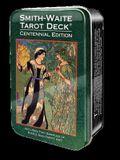 Smith-Waite Tarot Deck in a Tin