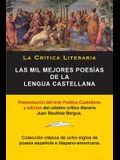 Las Mil Mejores Poesías de la Lengua Castellana, Juan Bautista Bergua; Colección La Critica Literaria, Ediciones Ibéricas: Colección La Crítica Litera