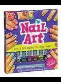 Nail Art: Over 35 Easy Designs for Little Fingers [With Non-Toxic Peel-Off Nail Polish and Brush]