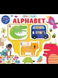 Puzzle Play Set: Alphabet: Three Chunky Books and a Giant Jigsaw Puzzle!
