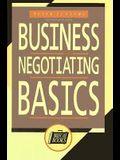 Business Negotiating Basics (Briefcase Books)