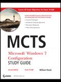 MCTS Microsoft Windows 7 Configuration Study Guide [With CDROM]