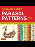 Origami Paper - Parasol Patterns - 8 1/4 Inch - 48 Sheets: Tuttle Origami Paper: High-Quality Origami Sheets Printed with 12 Different Designs: Instru