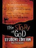 Story of God New Testament-NIV-Student
