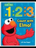 Sesame Street: 1 2 3 Count with Elmo!, Volume 1: A Look, Lift, & Learn Book