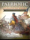 Patriotic Coloring Book: America the Beautiful